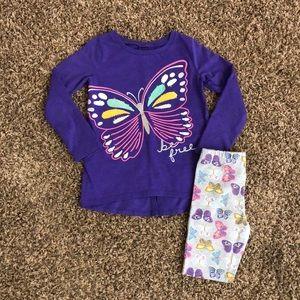 Carter's Little Girl Pant Set